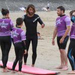 Surf cour collectif Onaka avec Émilien Fleury