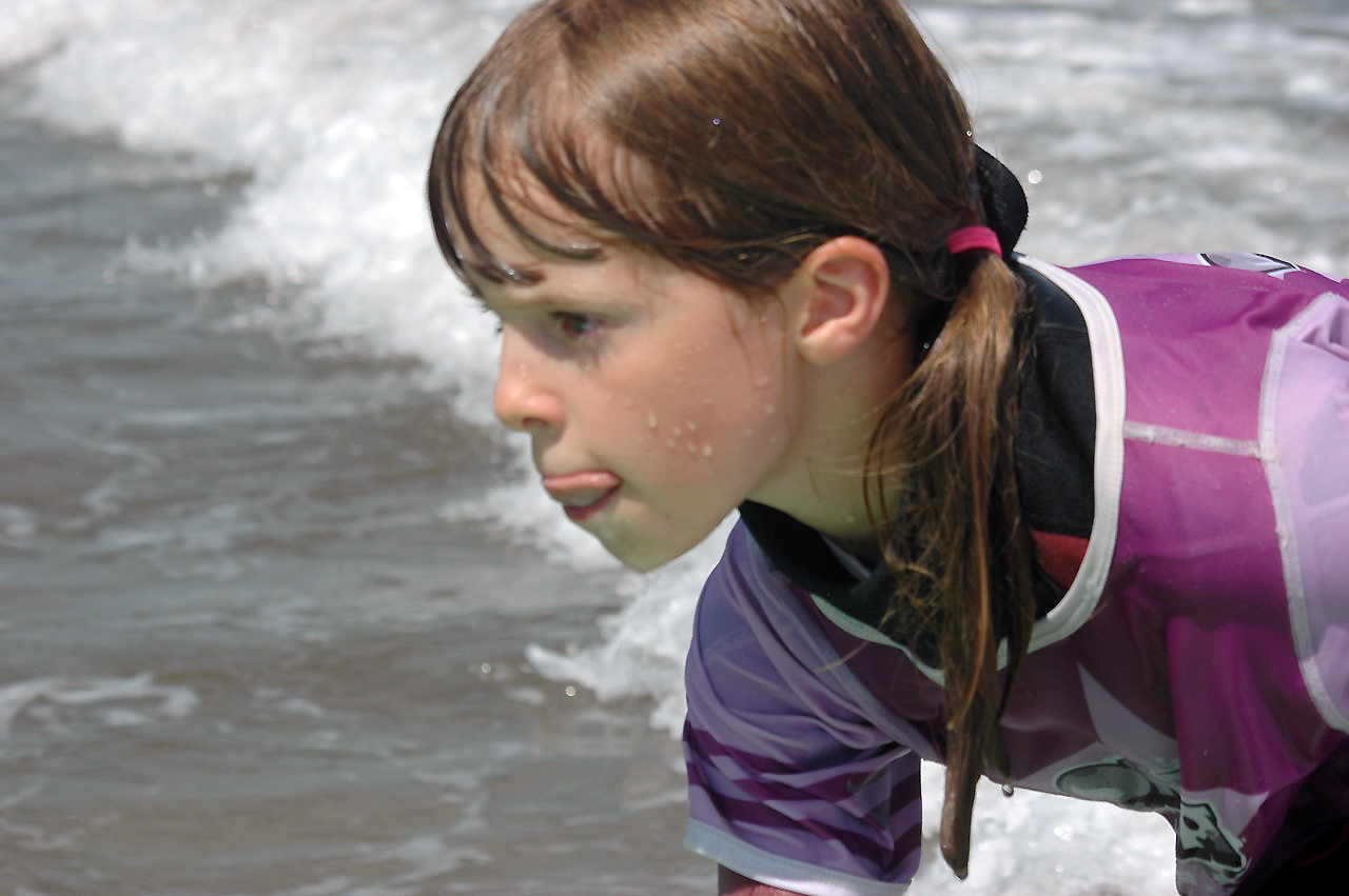 Onaka - école de surf Hendaye - cours enfants