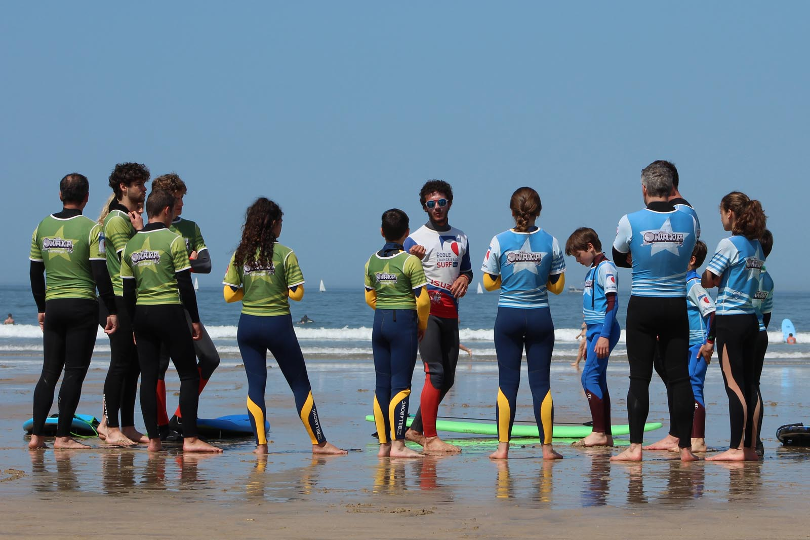Onaka - curs surf Hendaye