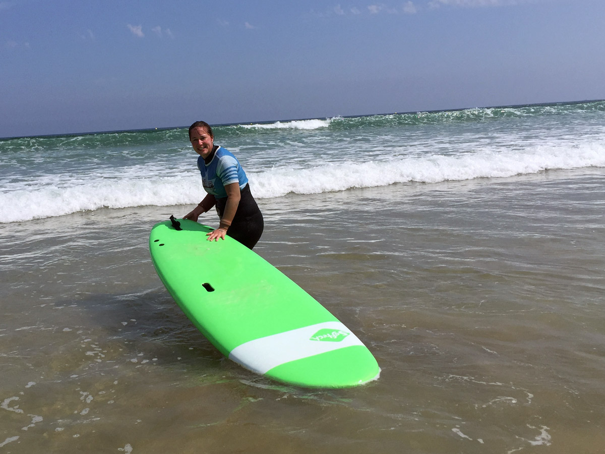 Onaka - école de surf Hendaye - cours collectif mai 2018