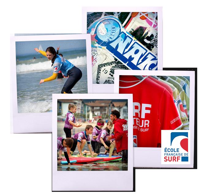 Onaka - école surf Hendaye- polaroids accueil