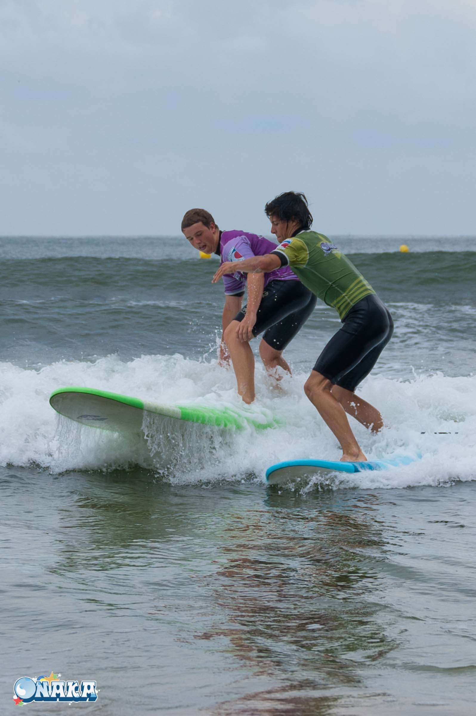 Onaka - Cours surf Groupe Hendaye