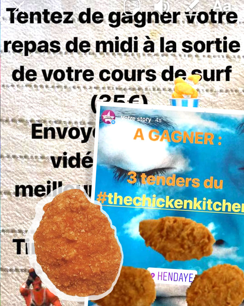 Onaka Concours Célébration Chicken