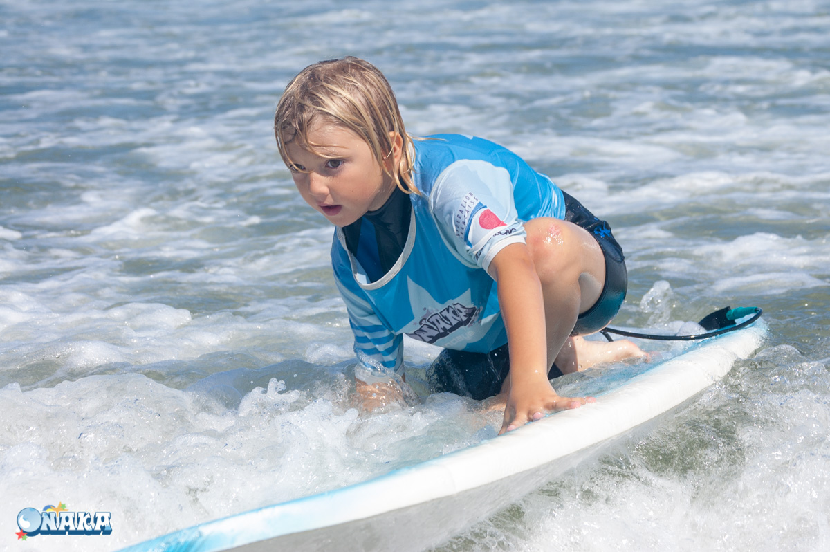 Onaka cours Surf collectif Hendaye Pablo 18 août 2018