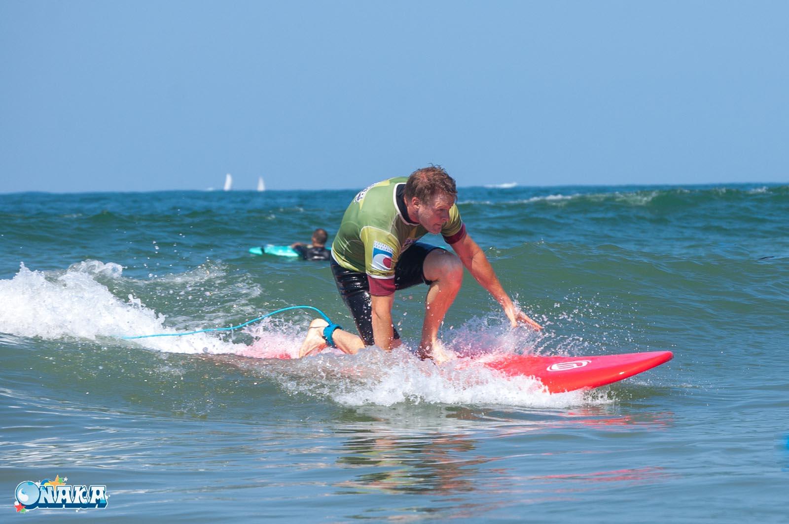 Onaka cours collectif surf Hendaye - 2082018