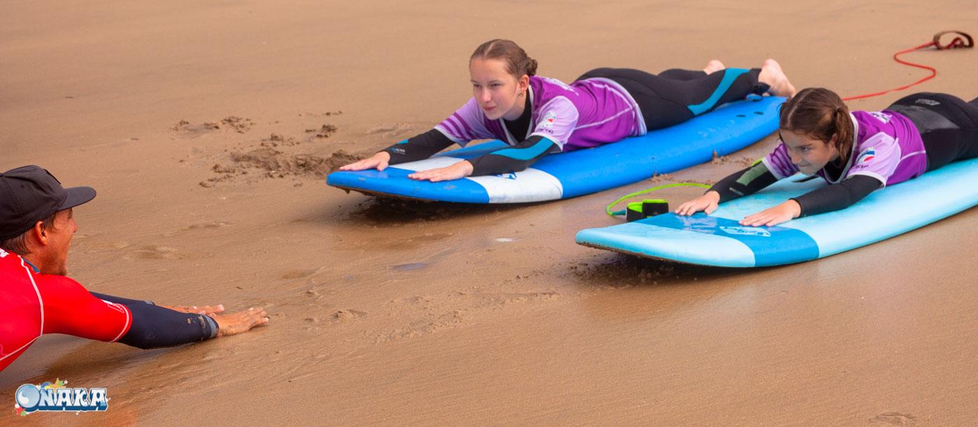 Onaka - cours surf hendaye-session du 9 août
