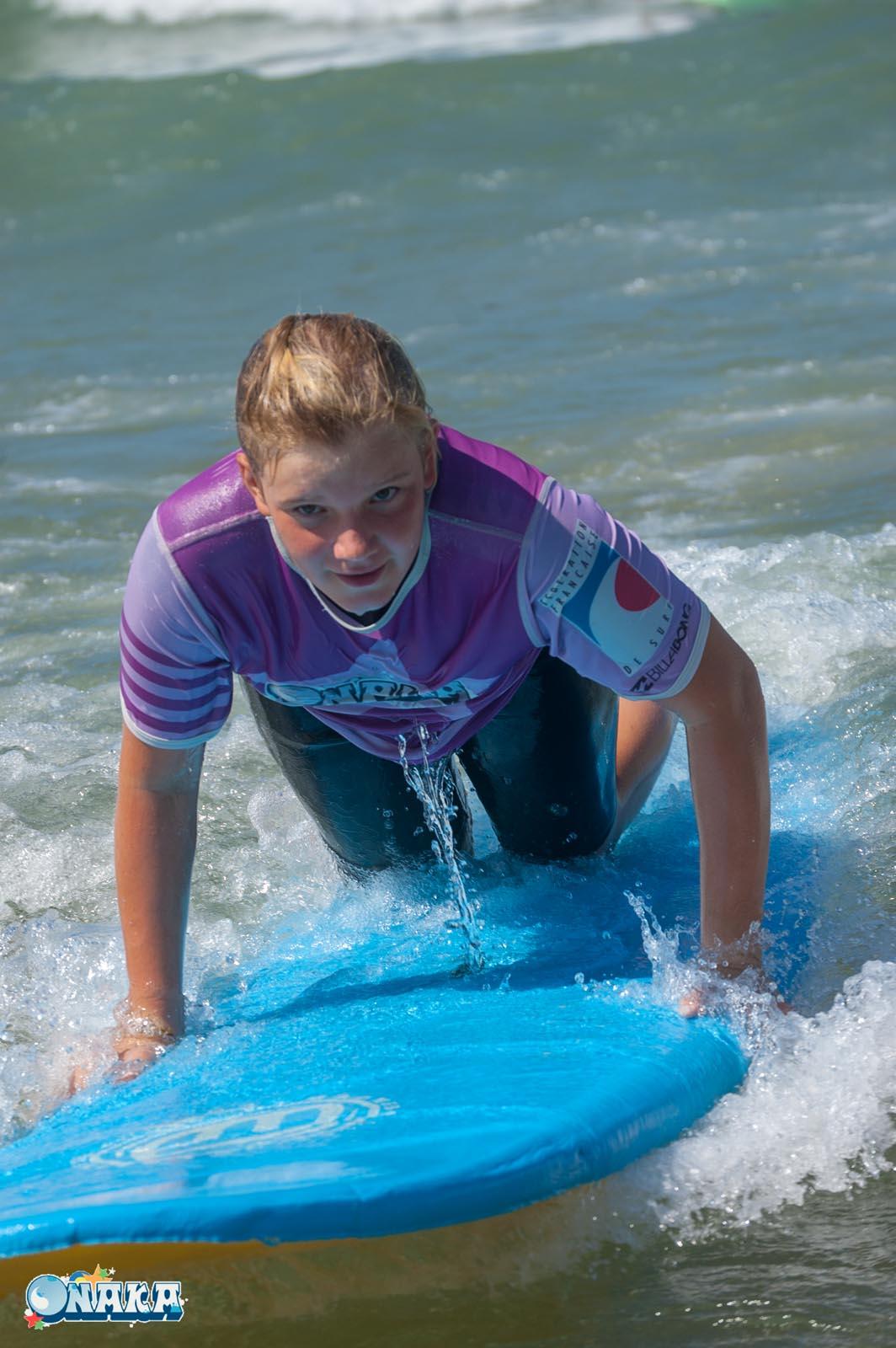 Cours collectif surf Onaka - Hendaye - 2 août 2018